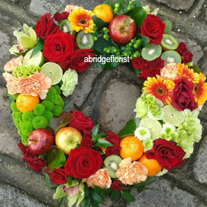 Fruit and Flowers Wreath