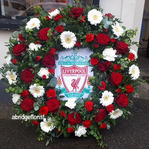Liverpool FC Funeral tribute